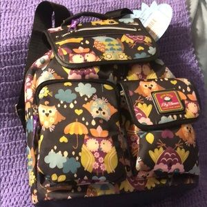"""New Lily Bloom """"What A Hoot"""" Riley Backpack🦉 ☂"""